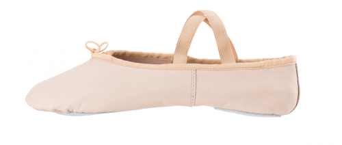 Demi-pointes Pro cuir nude