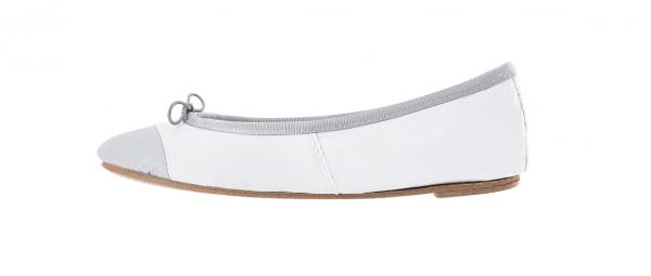 ballerine blanche femme chaussure ballerine en cuir blanche. Black Bedroom Furniture Sets. Home Design Ideas